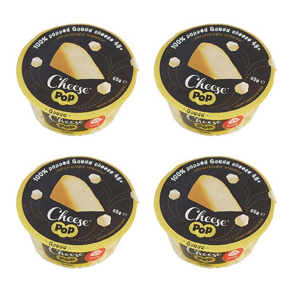 チーズ 乳製品 ナチュラルチーズ チーズポップ ゴーダ65g×4P 3~4営業日以内に出荷 出色 常温 驚きの値段 送料無料 全温度帯可