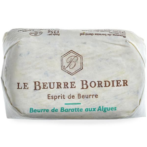 バター ボルディエ 低価格化 フランス フランス産 Bordier 海藻125g 冷蔵 上質 賞味期限:2週間前後 冷凍可