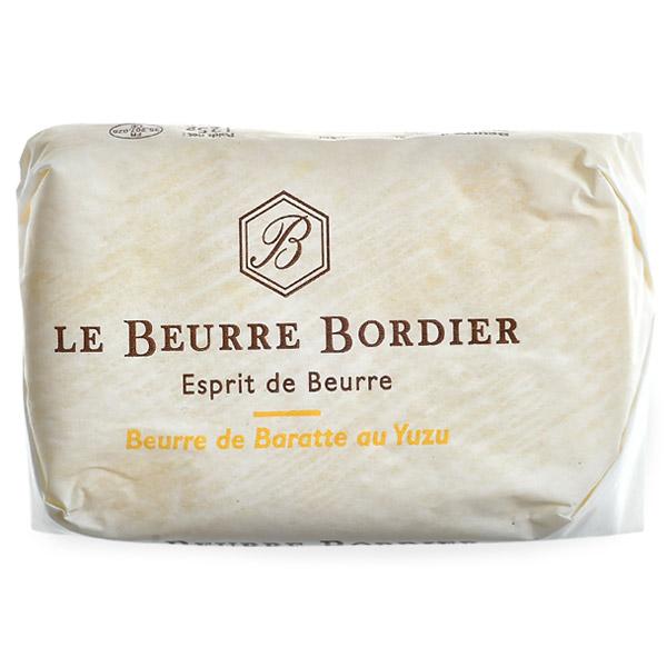 バター ボルディエ フランス フランス産 Bordier 賞味期限:2週間前後 冷蔵 冷凍可 高級品 クリアランスsale!期間限定! ユズ125g