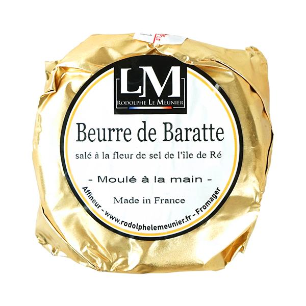 RODOLPHE LE MEUNIER 安心の定価販売 バター ロドルフ ル 捧呈 ムニエ 125g 賞味期限:1週間以上 冷蔵 冷凍可 フランス 有塩バター