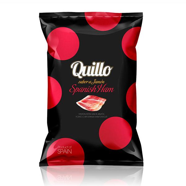 スイーツ 菓子 スナック グルメポテトチップス Quillo -キジョー- 全温度帯可 130g 常温 ファッション通販 マーケティング 3~4営業日以内に出荷 スパニッシュハム