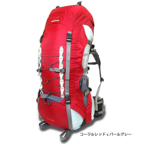 ビックホーン セロトーレ テント泊用大型ザック、リュックサック、バックパック、80リットル~90リットル、全3色(ブラック、レッド、インク)ヒップベルトで荷重を支え荷重分散出来るので肩や腰が痛くならず抜群の安定感とフィット感。背面調整式、男女兼用。