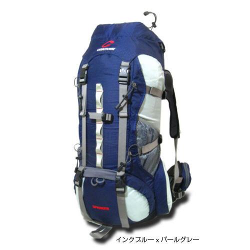 スプリンガー セロトーレ 山小屋泊、海外旅行用ザック、リュックサック、バックパック、35リットル、全3色(ブラック、レッド、インク)ヒップベルトで荷重を支え荷重分散出来るので肩や腰が痛くならず抜群の安定感とフィット感。背面長52cm、男性用。