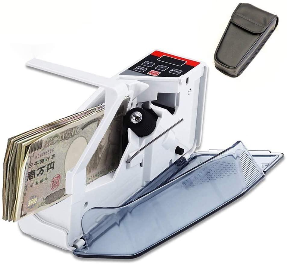 送料無料 ハンディー札カウンター 豪華な ブランド激安セール会場 枚数計測器 枚数カウンター マネー紙幣カウンター