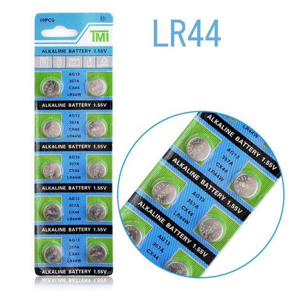 賜物 何点でも送料80円 ボタン電池 LR44 人気 1.55V 10個セット