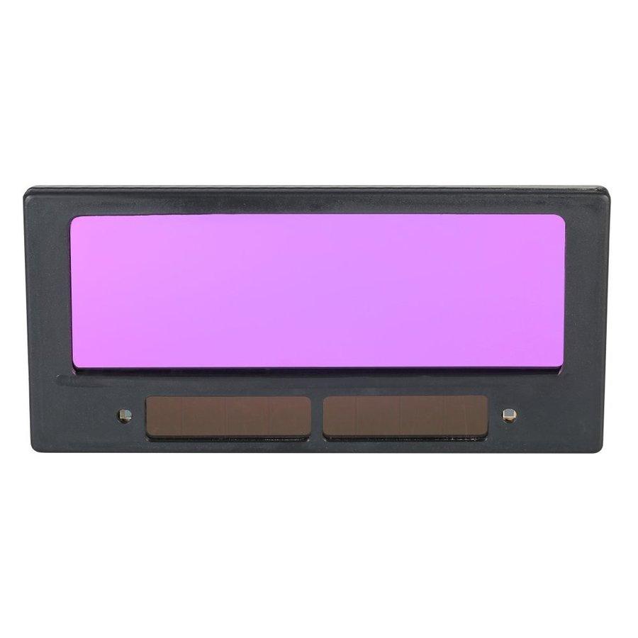 送料240円 溶接マスク 交換レンズ 自動遮光 液晶式 交換レンズ 太陽電池 ソーラー電源 溶接面用 遮光レンズ 汎用