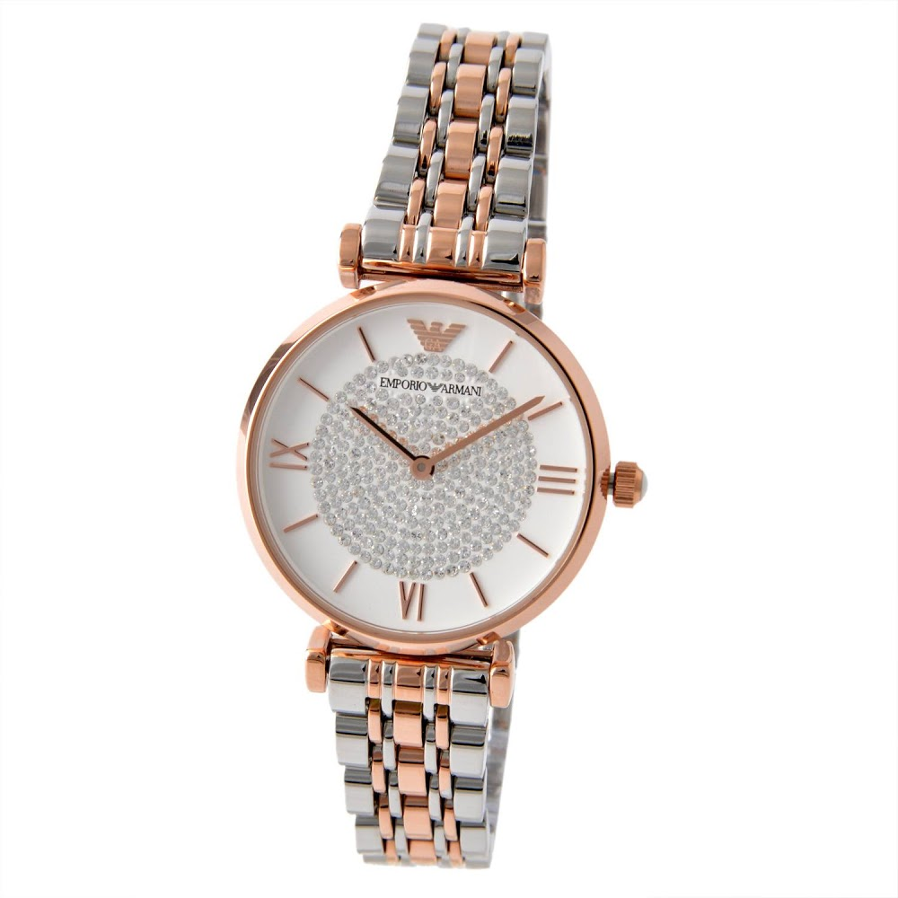 エンポリオ アルマーニ EMPORIO ARMANI レディース 腕時計 AR1926 ジャンニ ティーバー GIANNI T-BAR レディース 時計