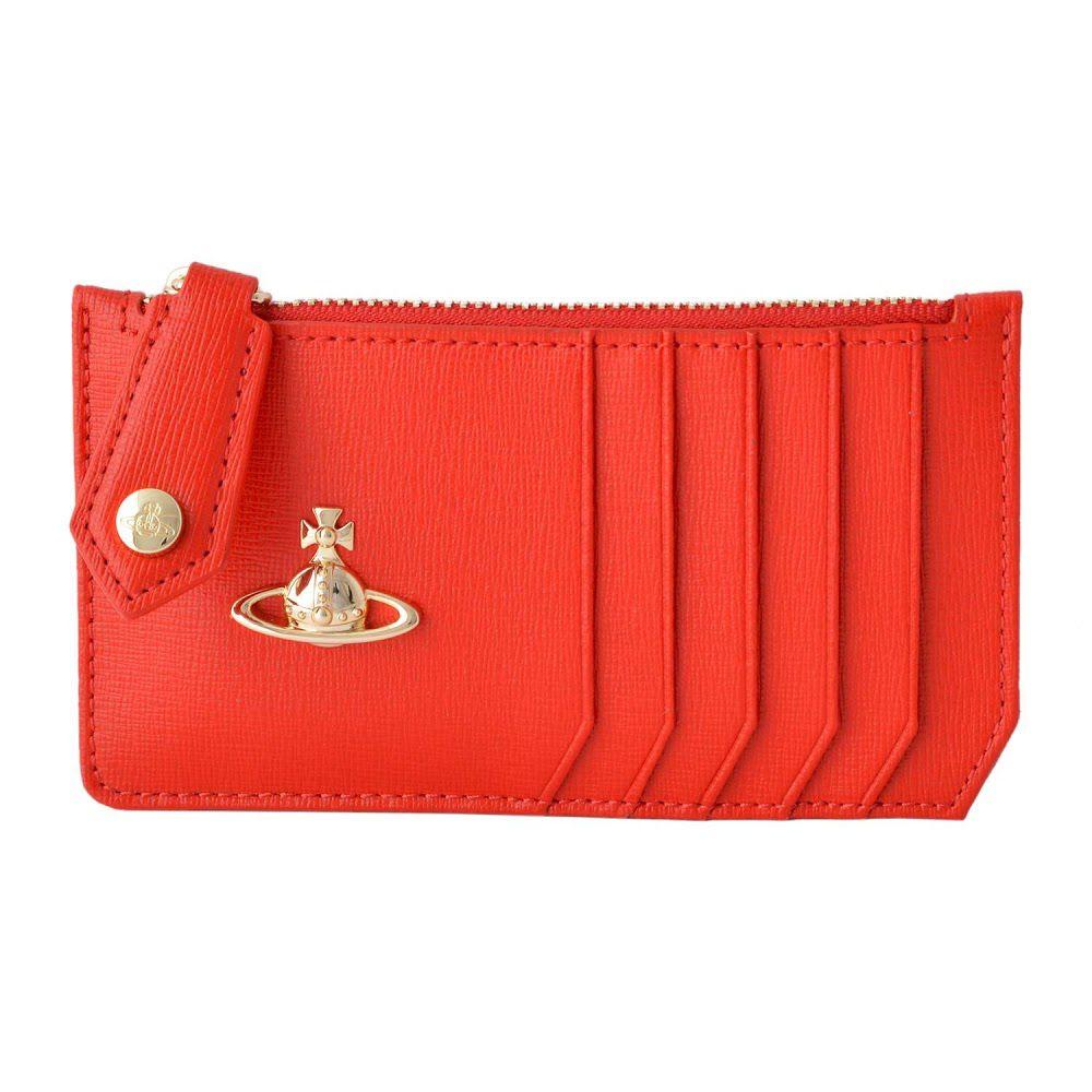 ヴィヴィアン ウエストウッド Vivienne WestWood 51060015 RED 小銭入れ付 カードケース マルチケース