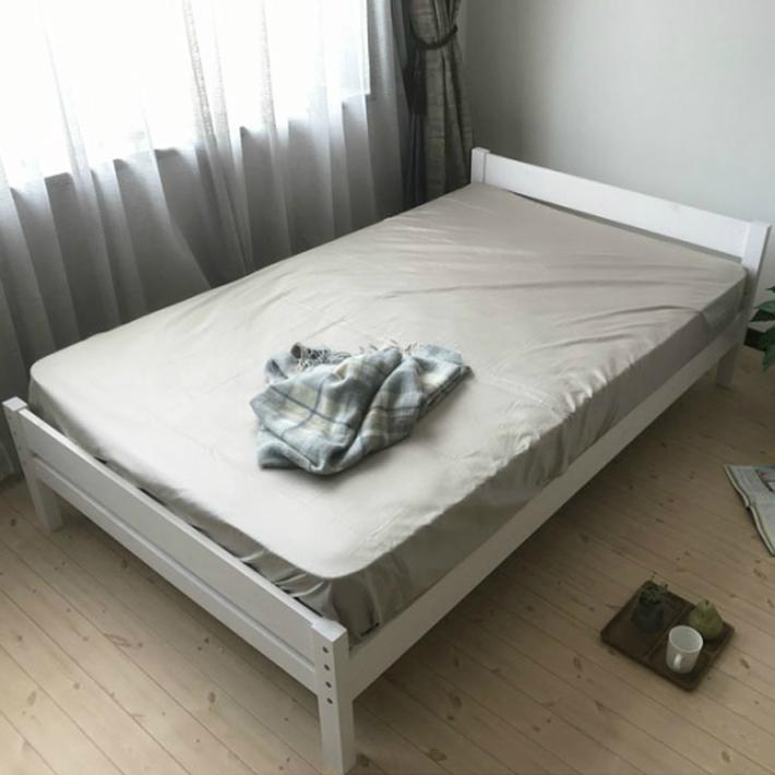 ベッド すのこベッド セミダブル ベッド スノコ sunoko すのこベット スノコベッド すのこ アウトレット 高さ 調整 ピコ マットレスは別売りです