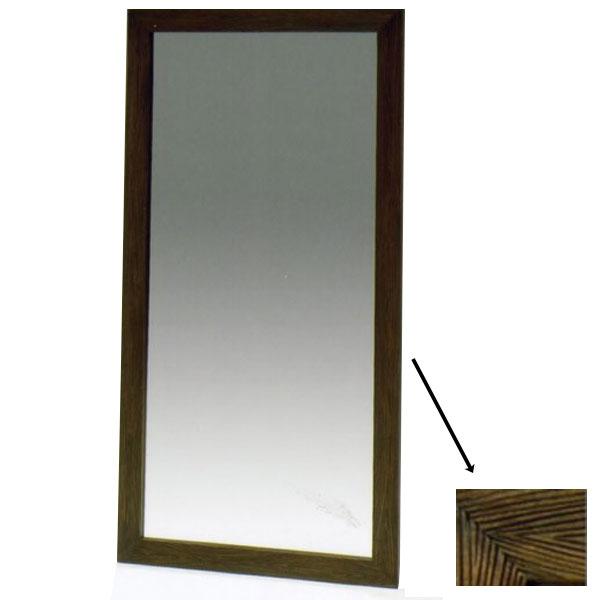スタンドミラー シルエット 木製スタンドミラー 姿見ミラー 全身鏡 姿見鏡 飛散防止 木目 シンプル おしゃれ ワンルーム