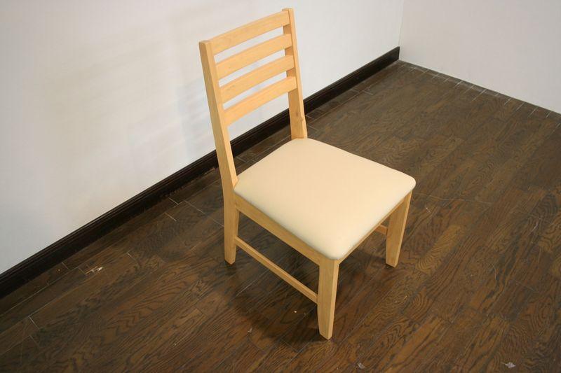 ダイニングチェア 2脚セット 合成皮革 ダイニング リビングチェア 木製 チェア シカゴ イス 椅子 ダイニングチェアー チェアー 食卓 セット おしゃれ クッション PVC 北欧