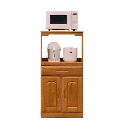 モニカ 60cm幅レンジ台(B型) ( 木製 )( シンプル )( レンジ台 食器収納 食器棚 家電収納 キッチン収納 カップボード キッチンカウンター)