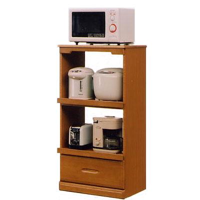 モニカ 60cm幅レンジ台(C型) ( 木製 )( シンプル )( レンジ台 食器収納 食器棚 家電収納 キッチン収納 カップボード キッチンカウンター)
