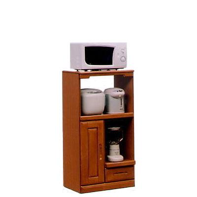 オリビア 60cm幅レンジ台 ( 木製 )( シンプル )( レンジ台 食器収納 食器棚 家電収納 キッチン収納 カップボード キッチンカウンター)