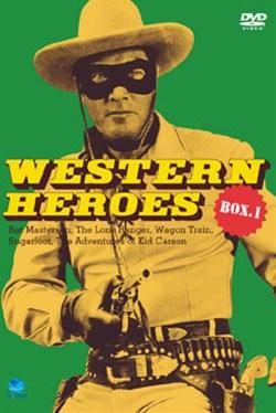 懐かしの傑作TVウエスタン シリーズ第1弾5枚組 WESTERN HEROES 当店は最高な サービスを提供します DVD-BOX1 テレビ 甦るTV西部劇のヒーローたち DVD 映画 超激安特価