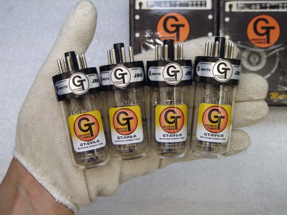 GT-6V6R QT(マッチドカルテット)4本セット販売 パワー管 ロシア製 グルーブチューブ 真空管 6V6シリーズ 【送料無料】 【あす楽】