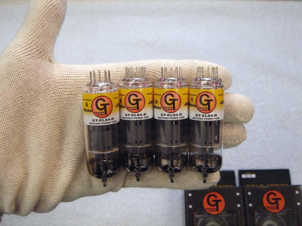 GT- EL84R QT (マッチドカルテット) 4本 セット販売 Groove Tubes パワー管 ロシア製 真空管 ギターアンプ チューブ アンプギター グルーブチューブ 送料無料 あす楽