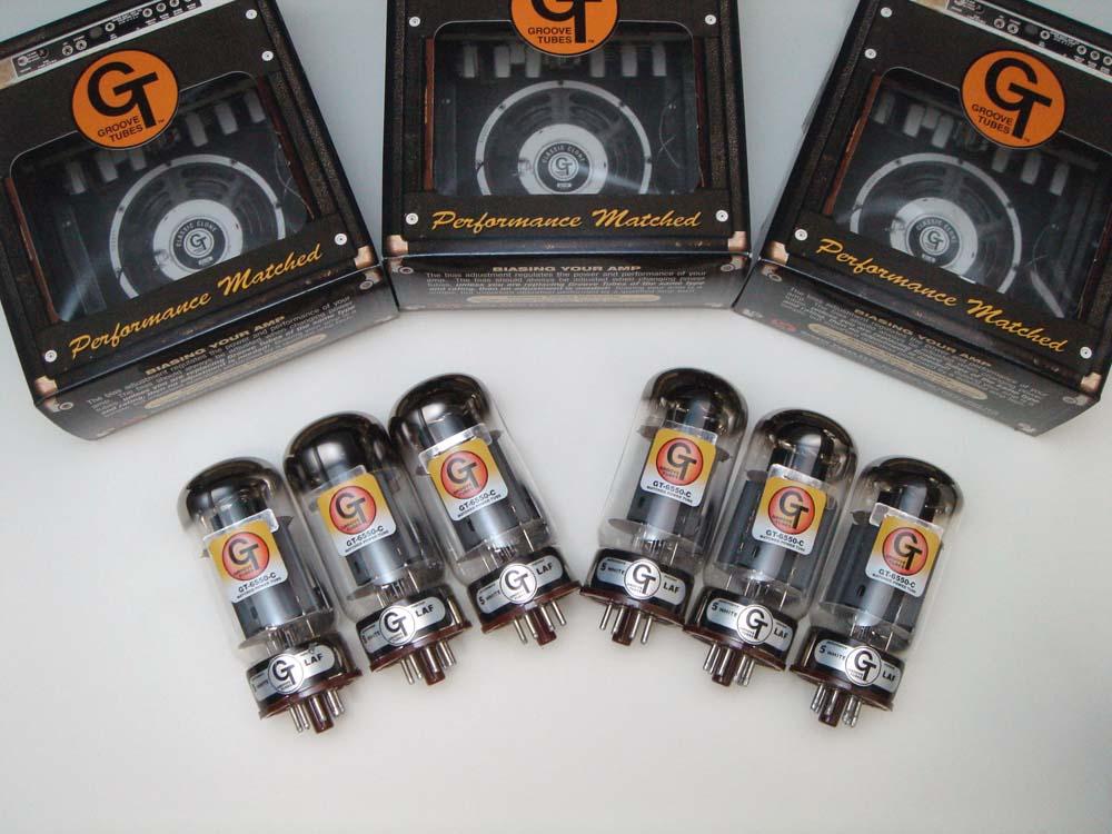 6550C SIXTET (マッチドシックステット) 6本 セット販売 Groove Tubes パワー管 中国製 真空管 ギターアンプ チューブ アンプギター グルーブチューブ 送料無料 あす楽
