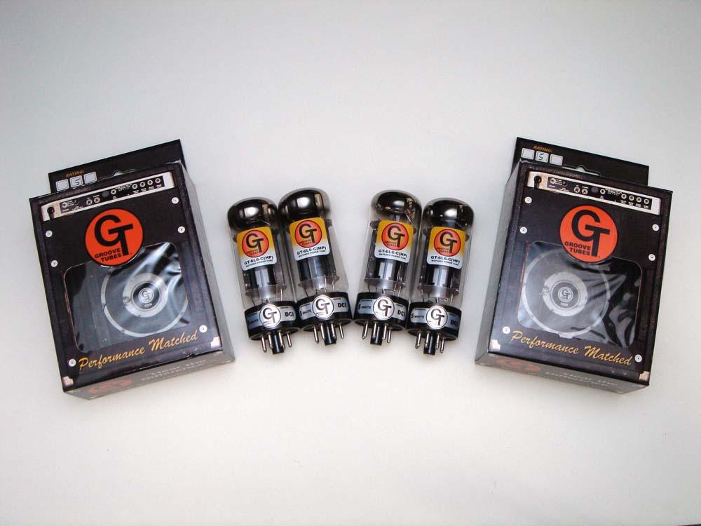 6L6CHP QT(マッチドカルテット) 4本セット販売 パワー管 グルーブチューブ 真空管 アンプ GTスペシャルグレードアップバージョン ハイパフォーマンス Groove Tubes 6L6GC 【送料無料】【あす楽】