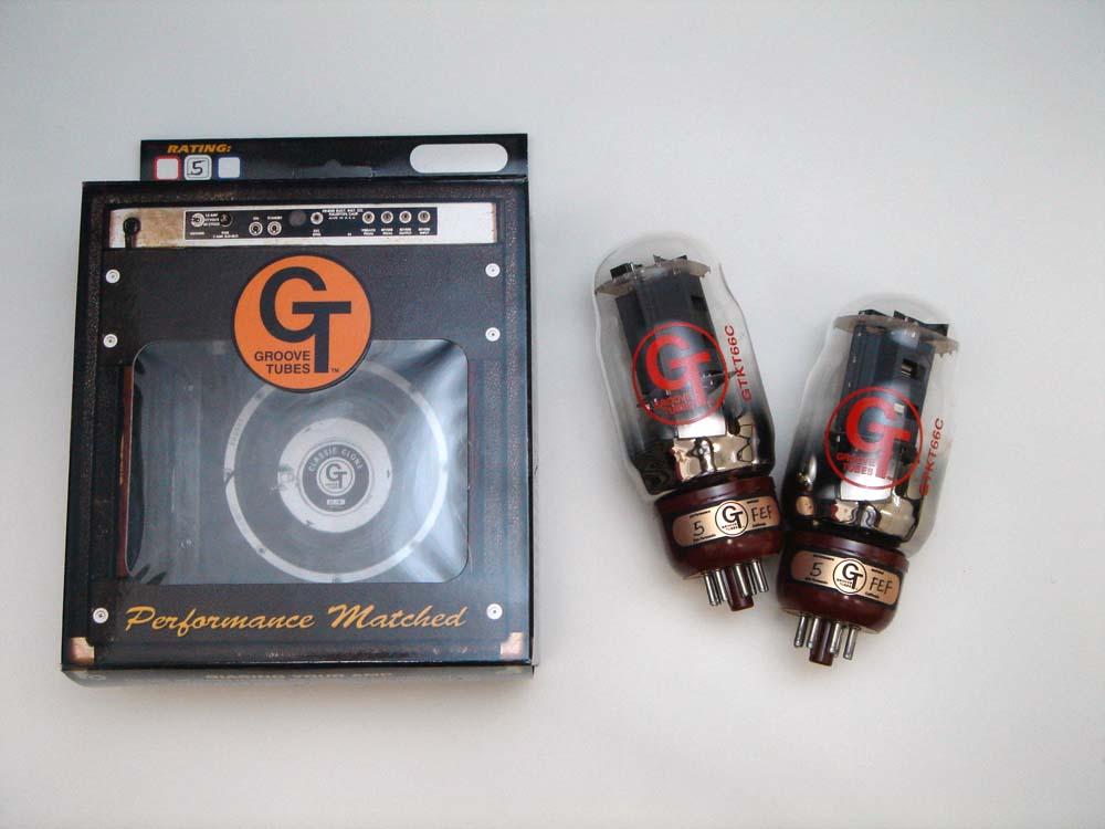 KT66C DT(マッチドペア) 2本セット販売 パワー管 グルーブチューブ 非常に音質のいい、余裕がある6L6管。ゴールドライオンの復刻版 【送料無料】【smtb-u】【あす楽対応_関東】
