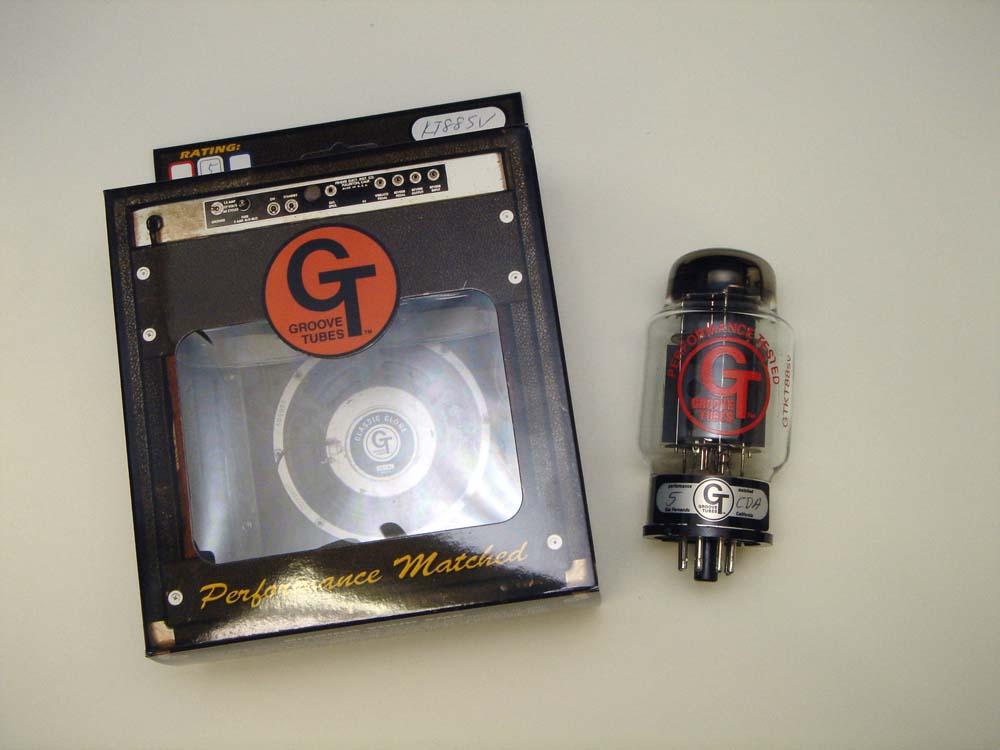 GT- KT88SV SG (シングル) 1本 Groove Tubes パワー管 ヨーロッパ製 真空管 ギターアンプ チューブ アンプギター グルーブチューブ 送料無料 あす楽