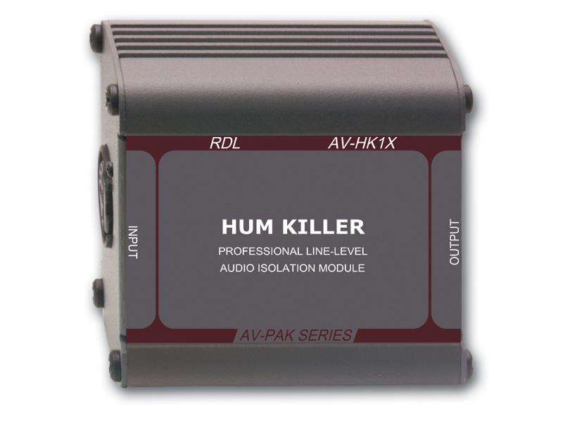 【送料無料】RDLAV-HK1XHUMキラー オーディオ絶縁トランス_XLR入/出力