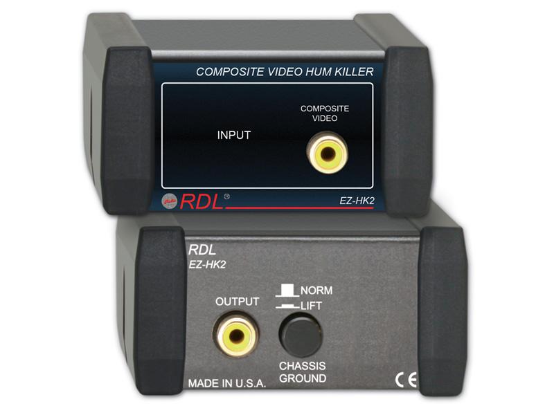 RDL EZ-HK2 コンポジットビデオハムキラー【送料無料】