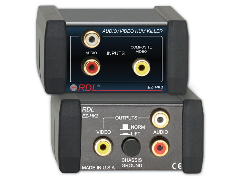 送料無料(一部地域を除く) RDL 永遠の定番モデル EZ-HK3 オーディオ ビデオハムキラー 送料無料