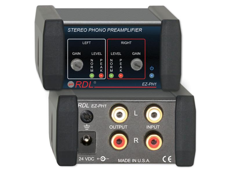 RDL EZ-PH1 ステレオフォノプリアンプ【送料無料】