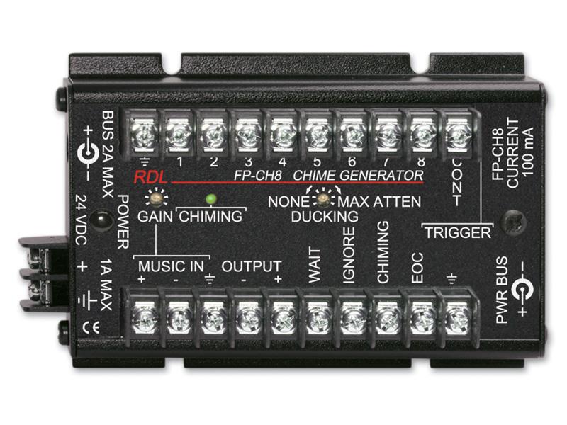 RDL FP-CH8 チャイムジェネレーター -8電子チャイム【送料無料】