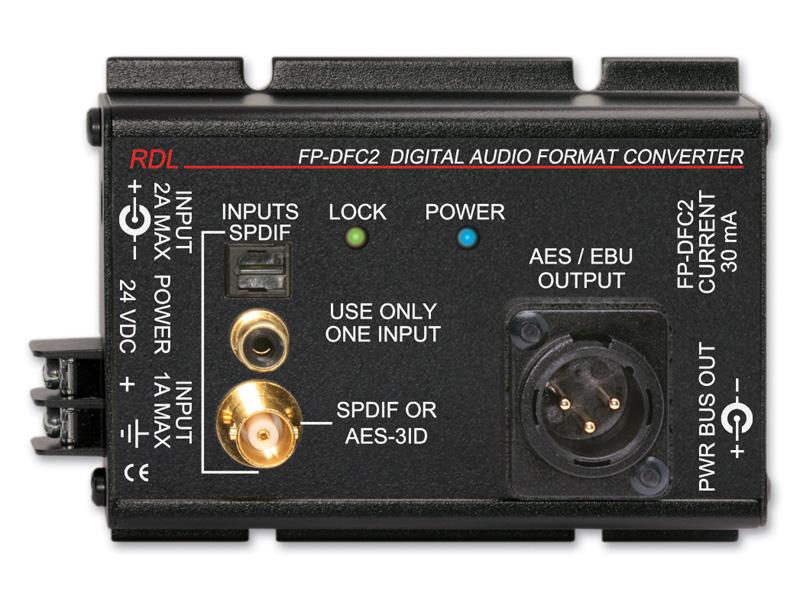 RDL FP-DFC2 デジタル・オーディオ・フォーマットコンバーター(24/192) 【送料無料】【smtb-u】