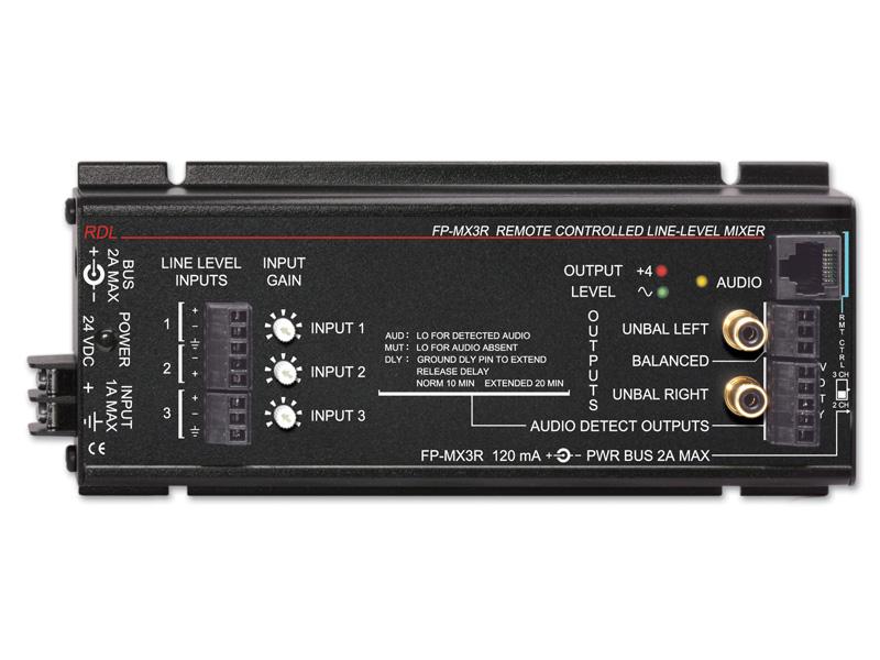 RDL FP-MX3R リモートコントロールラインレベルミキサー【送料無料】