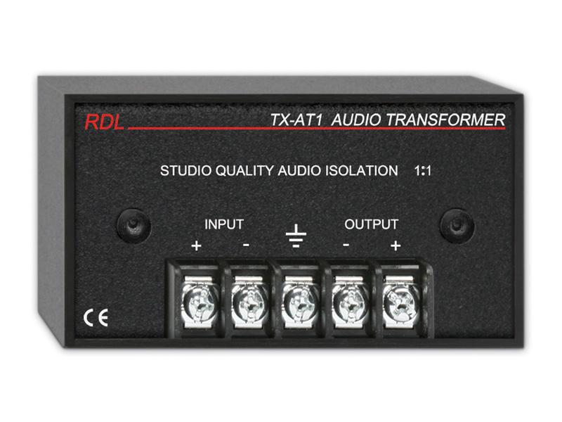 RDL TX-AT1 オーディオ絶縁トランス 日本 送料無料 結婚祝い -600Ω 1:1