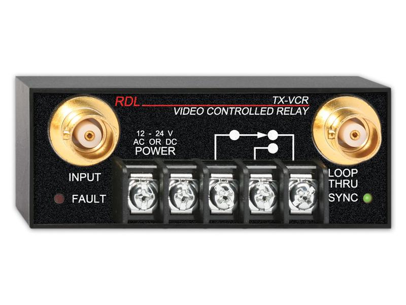 RDL TX-VCR ビデオコントロールリレー -BNC【送料無料】