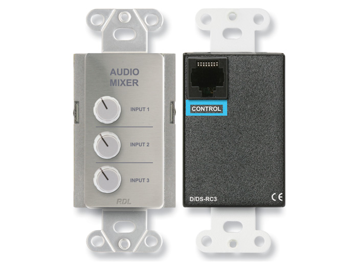 RDL DS-RC3 リモートオーディオ ミキシングコントロール 送料無料