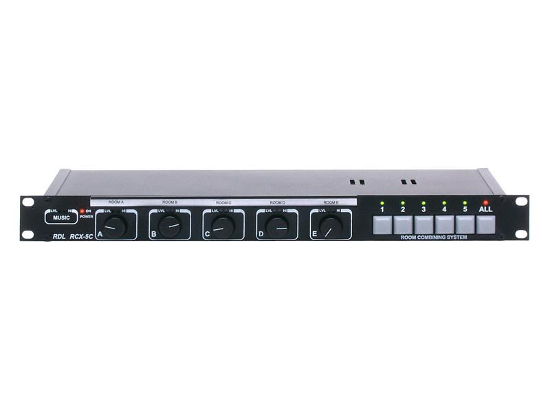 RDLRCX-5CM RCXルームコンバイニングシステムコントローラー  -ミュート機能付き【送料無料】