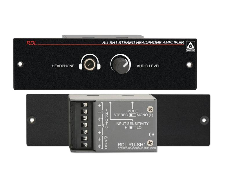 RDL RU-SH1 ステレオヘッドフォンアンプ_RACK-UP®シリーズ【smtb-u】【送料無料】