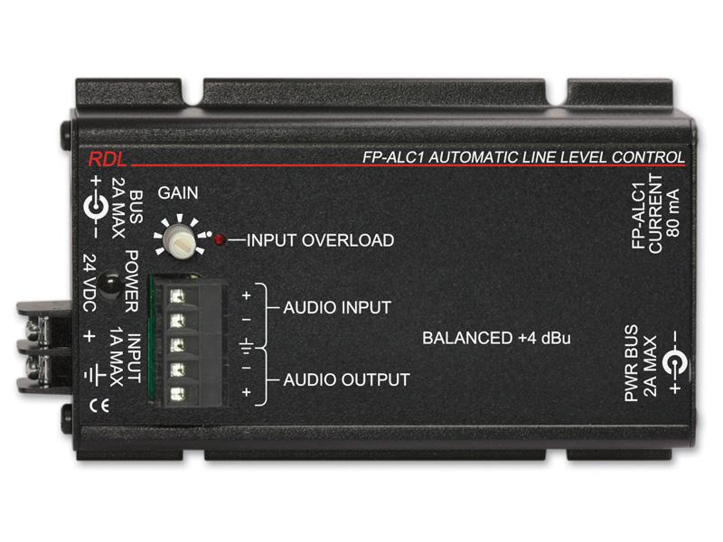 RDL FP-ALC1 自動レベルコントロール   -モノラル -ターミナルブロック 【送料無料】