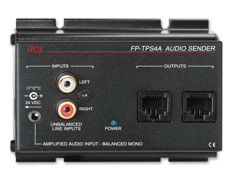 RDL FP-TPS4A Format-A 2ペアオーディオ送信機【送料無料】