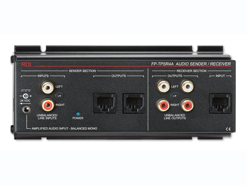 RDL FP-TPSR4A Format-A 2ペアオーディオ送信機/受信機【送料無料】