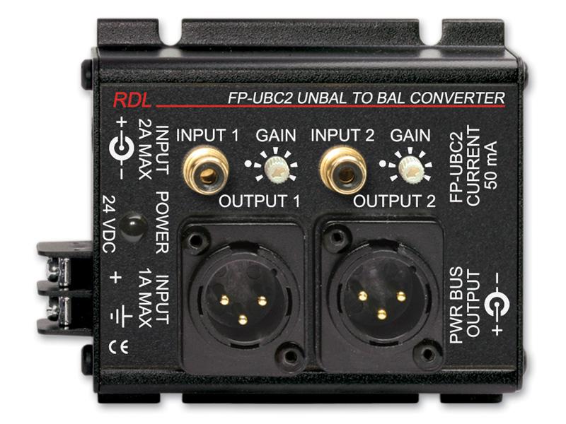 RDL FP-UBC2 全店販売中 アンバランス―バランス コンバーター 即納 -2チャンネル 送料無料