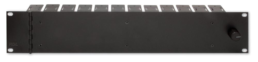 RDL STR-19A STICK-ON(R)シリーズ用19インチラックシステム  -2モジュール12個用 【送料無料】