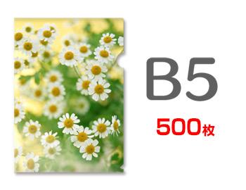 B5クリアファイル印刷500枚(単価87円), 照明日用品 e-cho online:55cca81f --- luzernecountybrewers.com