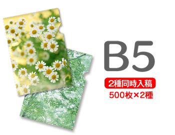 B5クリアファイル印刷500枚+500枚=1000枚, 首輪とキーホルダーのパーツのお店:aac1b3e1 --- luzernecountybrewers.com