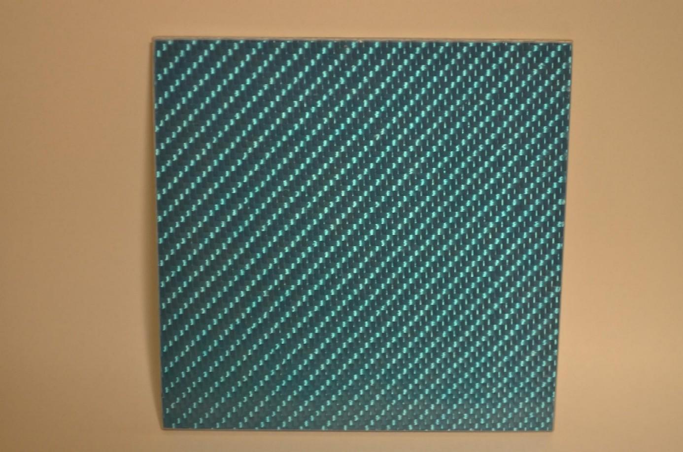 シルバーカーボン板(色入)~*600x600mm*両面・3mm厚~
