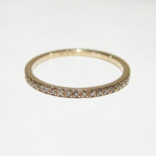 Anthurium K10 Full Eternity Diammond Ring