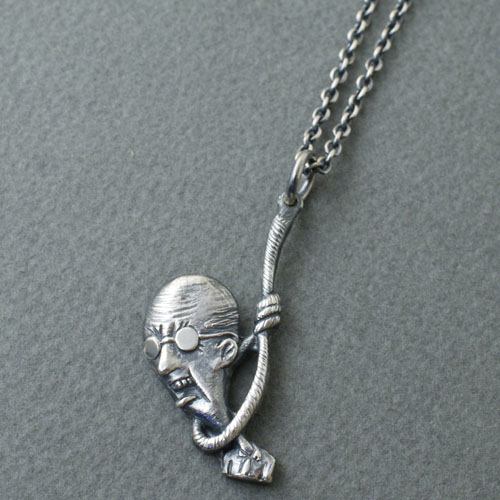 CMW-UNKNOWN Death Poems Necklace SV