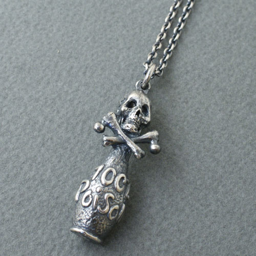CMW-UNKNOWN Poison Bottle Necklace SV