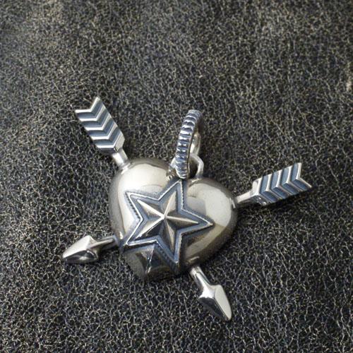 Cody Sanderson Heart & Sheriff Star Double Arrow