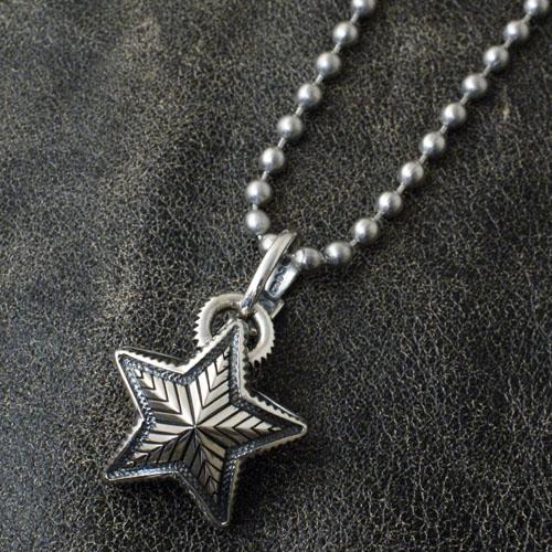 PENDANT+STAINLESS BALLCHAIN Cody Sanderson SMALL STAR